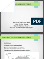 Slides Superestrutura ferroviária