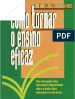 Antônio Tadeu Ayres - Como tornar o ensino eficaz