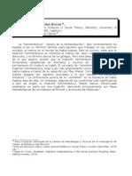 Giddens - Hermeneutica y Teoria Social (1)