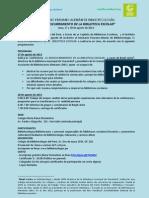 SEMINARIO PERUANO-ALEMÁN DE BIBLIOTECOLOGÍA