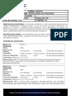 Programa Teoria Geral Do Processo 2010 1