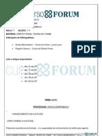 TURMÃO FEDERAL 2013 - MANHÃ - PRESENCIAL -DIREITO PENAL TEORIA DO CRIME - AULA 11-21..05.2013