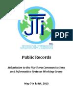 JTI - NCIS Submission 2013