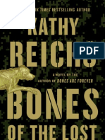 Bones of the Lost by Kathy Reichs - preview excerpt!