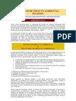 Estudos de Impactos Ambientais - EIA e RIMA