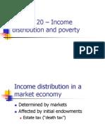 Chap20- Income Distribution and Poverty