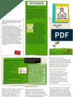parent back to school brochure copy