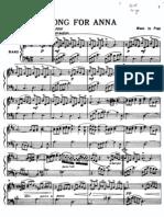 Richard Clayderman-Song for Anna-SheetMusicTradeCom