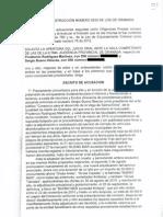 Escrito de Acusación Sergio Bueno, Grua Consorcio Agosto2013