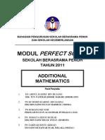 Perfect Score Addmat 2011 q