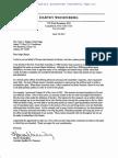 Weisenberg Bruno Letter