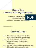 Finance Chapter 1