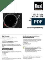 Dual Dtj 301.1 Usb De_fr_it_eng