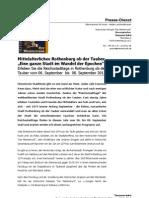 """PDF- Reichsstadttage 2013, Mittelalterliches Rothenburg ob der Tauber """"Eine ganze Stadt im Wandel der Epochen"""""""