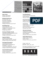 Duke University Press American Anthropological Association 2013 Program Ad