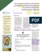 ABE Brochure 2013