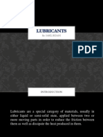 Lubricants Types Ppt1