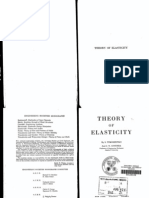 Theory of Elasticity by Timoshenko and Goodier