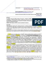 CORREIA Manuel -Revista de Filosofía- La actualidad de la lógica de Aristóteles
