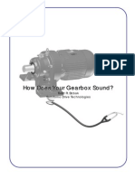 How Does Your Gearbox Sound