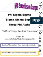 fall 2011 flyer