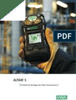Broshure, Altair 5X - Detector de Gases - RELZATEC.COM