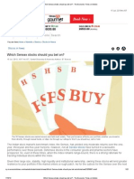 Which Sensex Stocks Should You Bet On_ - The Economic Times on Mobile