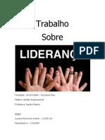 TRABALHO DE LIDERANÇA