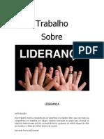 TRABALHO DE LIDERANÇA1
