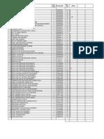 Master List of Documents BHEL HARDWAR