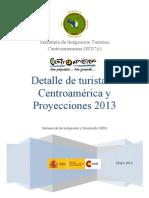 Proyecciones Turísticas Centroamericanas 2013 SID-SITCA final