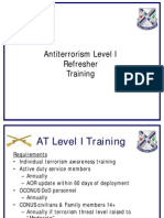 U.S. Army Antiterrorism Level I