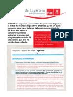 Boletin PSOE Lagartera Julio 2013