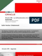 ORACLE VM La infraestructura de Cloud de Oracle