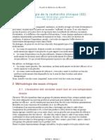 Méthodologie de la recherche clinique