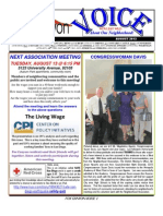 Fox Canyon Newsletter August 2013