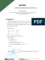 Penggunaan Sistem Matriks-Probabilitas Didalam Teknik Industri