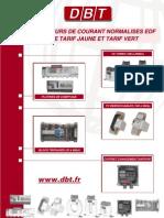 TEQCO110.C - Transformateurs de Courant Normalises EDF