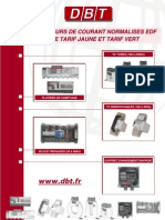 TEQCO110.C - Transformateurs de Courant Normalises EDF