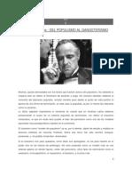 Mires, Fernando; Del Populismo Al Gangsterismo