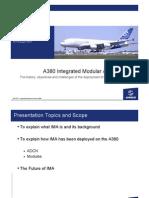A380 Integrated Modular Avionics