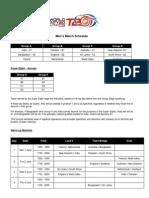 T20 2009 Warm Up Match Schedule