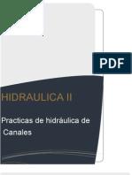 Practicas de Hidraulica de Canales