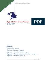 Digital Britain Unconferences Report