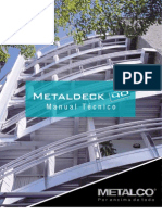Manual Tecnico Metaldeck