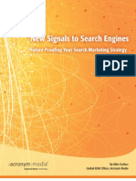 New Signals to Search Engines