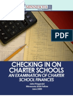 Checking in on Charter Schools - An Examination of  Charter School Finances