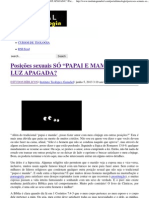 "Posições sexuais SÓ ""PAPAI E MAMÃE"" E DE LUZ APAGADA_ _ Portal da Teologia.pdf"