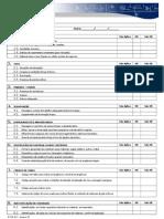 Check list inspeção predial modelo