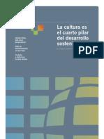 Cultura Cuarto Pilar Desarrollo Sustentable